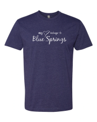 My Heart Belongs to Blue Springs Tee