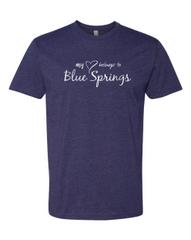 My Heart Belongs to Blue Springs Tee