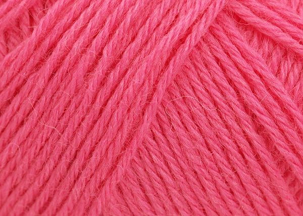 baby soft fingering bright pink wool yarn bay beby high quality