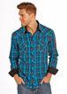 Rock & Roll Men's Plaid Shirt