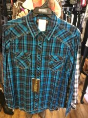 Panhandle Rough Stock Mens Western Shirt