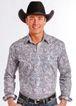 Panhandle Rough Stock Pasiley Mens Shirt