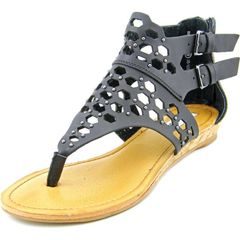Not Rated Black Skylark Sandals