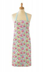 Cooksmart 'Vintage Floral' Cotton Apron with pocket, £5.49 each FREE UK POSTAGE, Discontinued Line