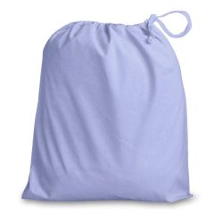 Drawstring Bags in Polycotton 42cm x 48cm Lilac, matching fabric drawstring closure, 46 colours plus 9 sizes, FREE UK POSTAGE on orders over £5.00