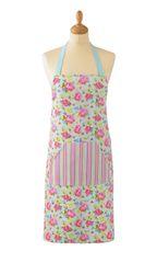 Cooksmart 'Vintage Floral' Cotton Apron with pocket, £5.49 each FREE UK POSTAGE, Discontinued Line