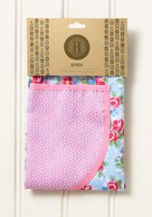 Cooksmart 'Rose Garden'' Cotton Apron with pocket, £5.49 each FREE UK POSTAGE, Discontinued Line