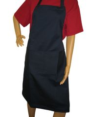 Aprons, full size adults, with large pockets, choice of colour, NAVY BLUE
