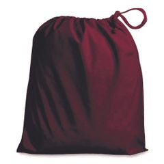 Drawstring Bags in Polycotton 6cm x 9cm Maroon/Wine, matching fabric drawstring closure, 46 colours plus 9 sizes, FREE UK POSTAGE on orders over £5.00