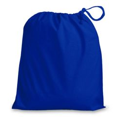 Drawstring Bags in Polycotton 6cm x 9cm Royal Blue, matching fabric drawstring closure, 46 colours plus 9 sizes, FREE UK POSTAGE on orders over £5.00