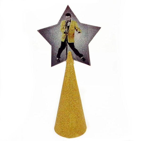 Elvis Tree Topper. - Elvis Tree Topper BBJ Handmade Pop Accessories Home Decor