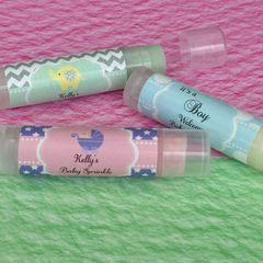 Personalised Lip Balm Tubes - Baby Theme