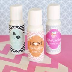 Personalised Hand Lotion - Wedding Theme