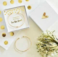 Tie the Knot Bangle Gold or Silver