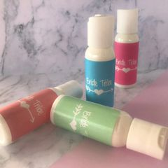 """Bride Tribe"" Mini Lotion Favours"