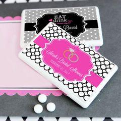Personalised Mini Mint Favours - Wedding Theme