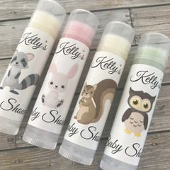Forest Friends/Woodland - Personalised Lip Balms