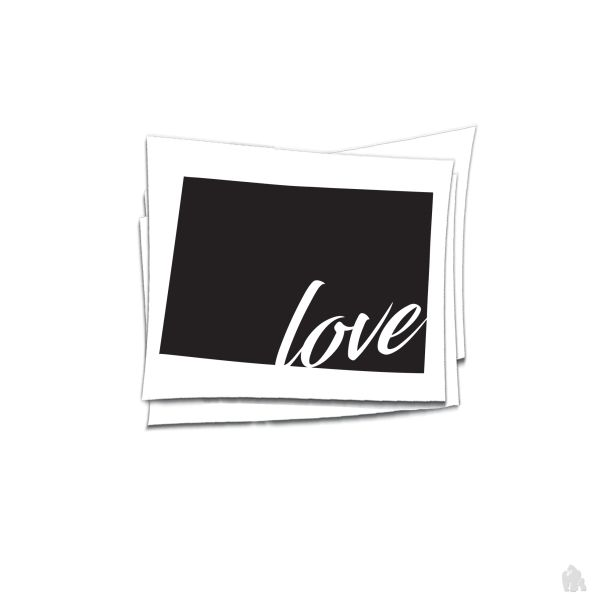 colorado love sticker