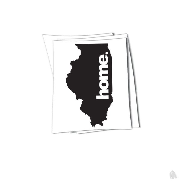 illinois home sticker