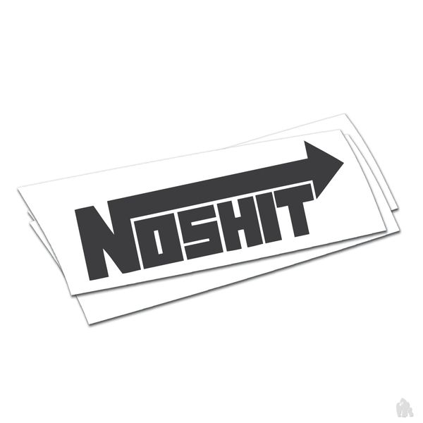 no shit NOS sticker