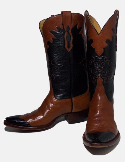 VAQUERO WATER BUFFALO W COLLAR GATOR WINGTIP