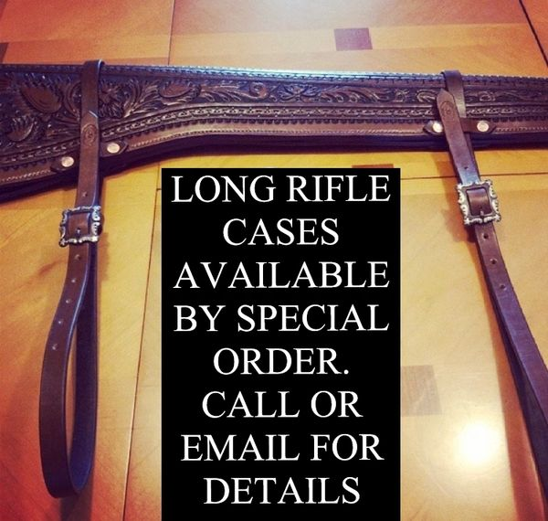 HANDMADE HAND TOOLED LONG RIFLE CASE