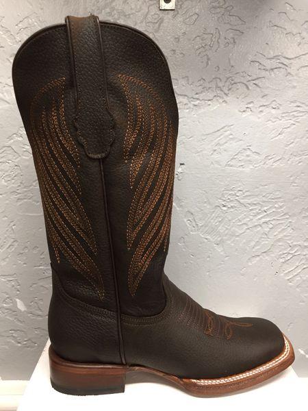 Massachusetts FL CR Tang/Trolac Ladies Square Toe Boot. TML205007