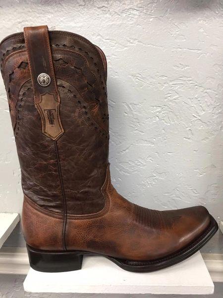 Damiana Moka All Leather Men's Western Boot. TM201771