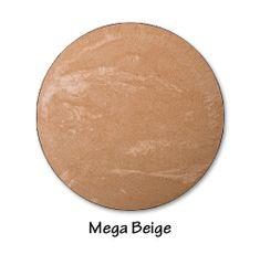 Volcanic Mineral Baked Powder - MEGA BEIGE