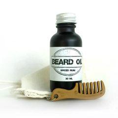 Spiced Rum Beard Oil Gift Set