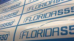 Florida S550 Window Decals