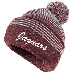 AHS Holloway Beanie w/Embroidered Jaguars
