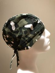 Light-Green Camouflage Do-Rag
