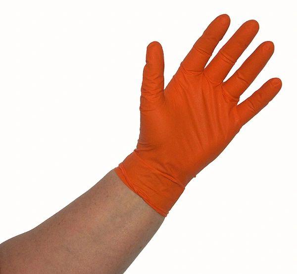 Gloves Orange Lighting