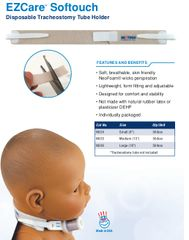 Neotech EZCare™ Tracheostomy Tube Holder
