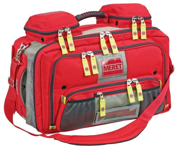 Meret Omni Pro EMS Response Bag, Red TS Module Ready