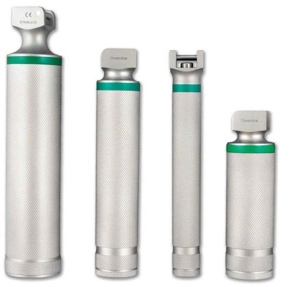 Intubation, Laryngoscope Handle, Greenline