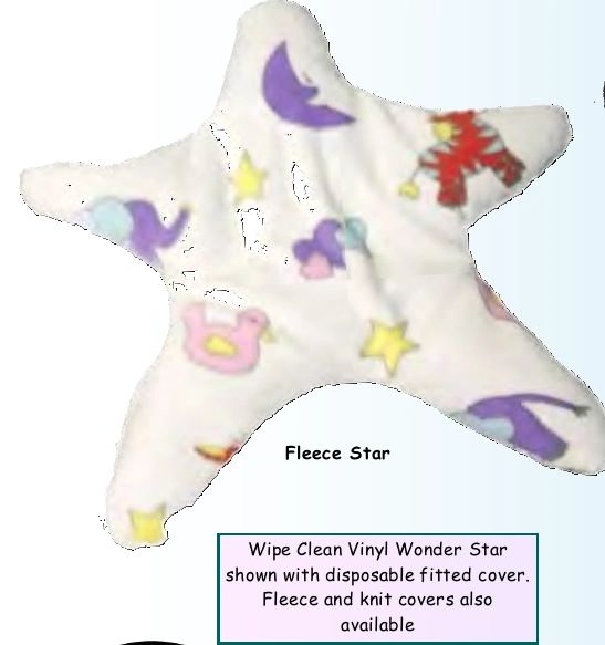 Small Beginnings Wonder Star Positioning Pillow