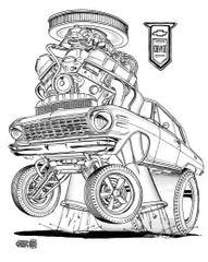 "1964 CHEVY 2 PRINT 17""X 24"" PAPER"