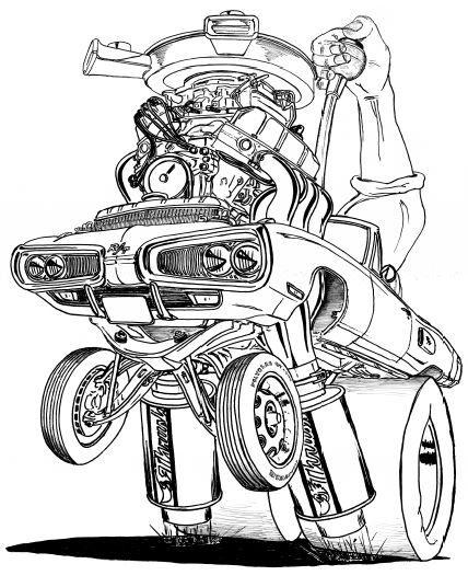 "1970 DODGE CORONET RT AUTOMATIC PRINT 17""X 22"""