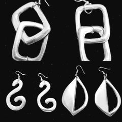 ACCESSORIES - Recycled Aluminum Earrings