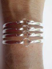 ACCESSORIES - Fork Bracelet Silver Plated