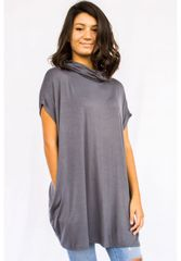 CLOTHING - Cowlneck Tunic