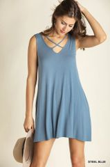 CLOTHING - Sleeveless A line Dress