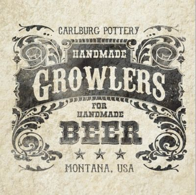 HANDMADE GROWLERS