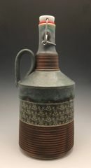 Aged Bronze / Damascus filigree