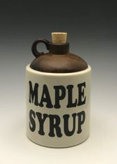 YUM, maple syrup jar