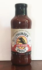 ThunderSnout BBQ Sauce - Classic Flavor - 3 - 20 ounce bottles