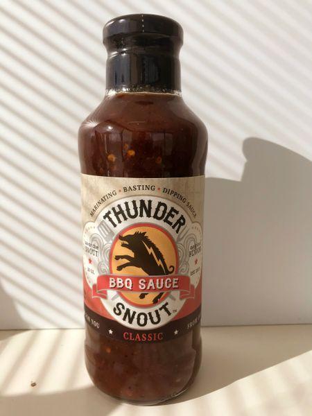 ThunderSnout BBQ Sauce - Classic Flavor - 1 - 20 ounce bottle