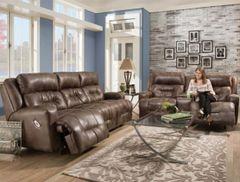 Brown Power Living Room